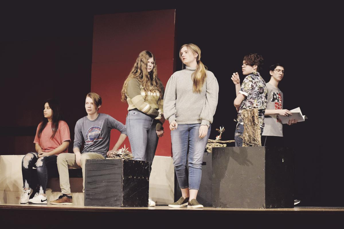 'Museum' watches people on Smithville stage