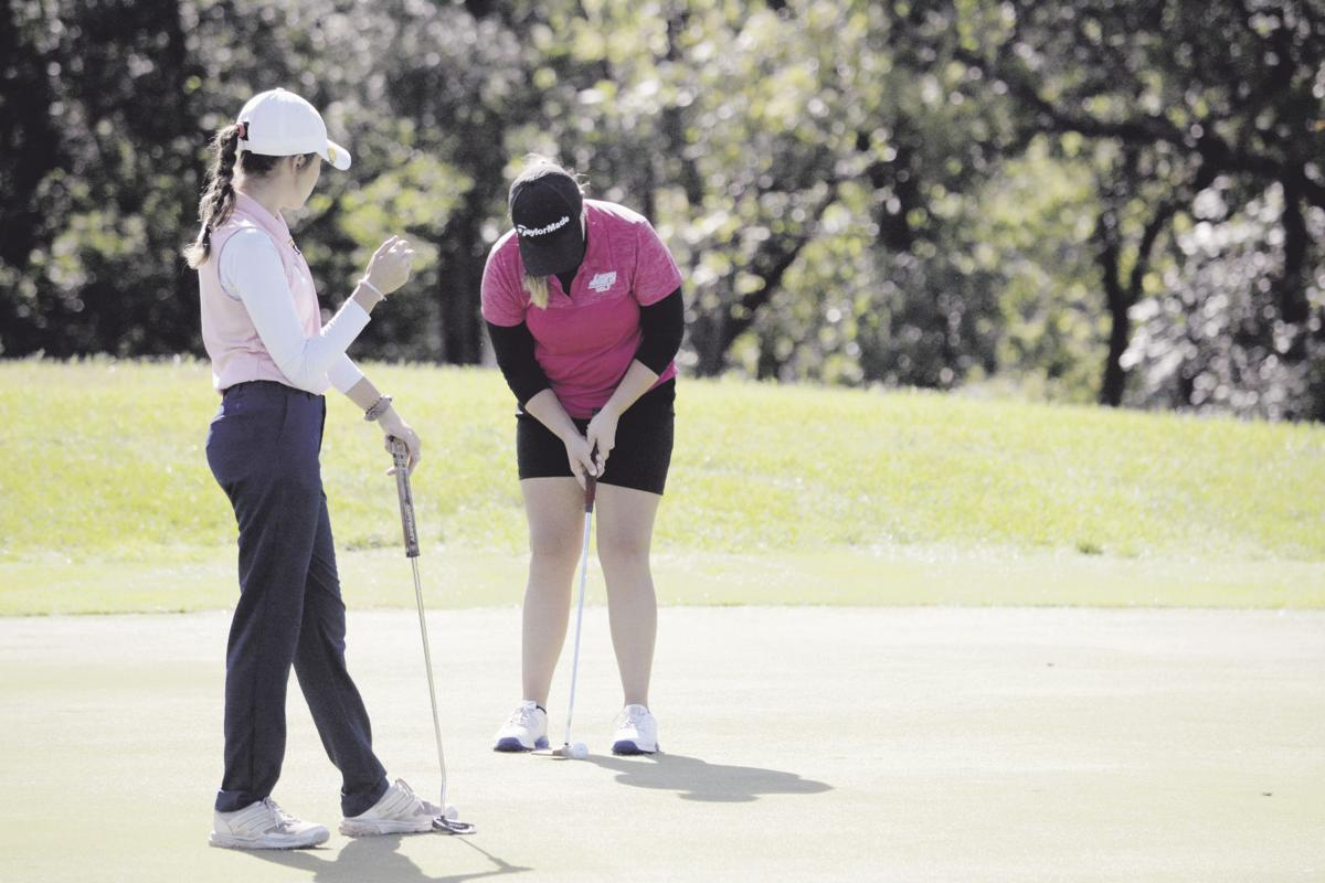 Howard, Liberty girls take back district golf crown