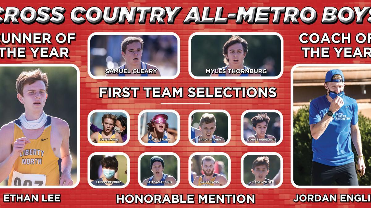 Cross Country All-Metro Boys Team