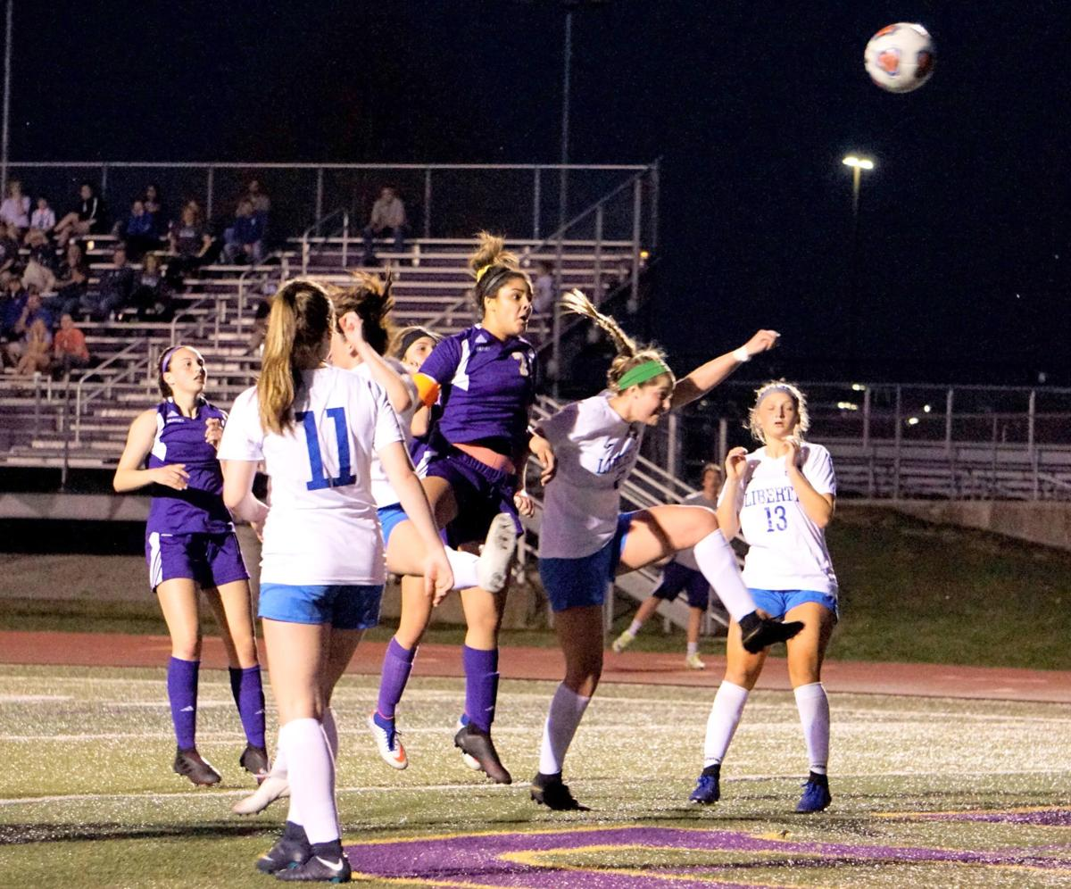 Liberty soccer hands Kearney its first loss of the season in overtime