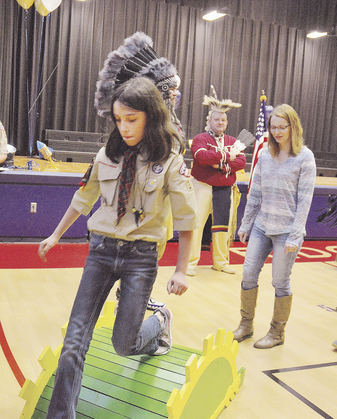 Troop 374 Scouts Move Ranks