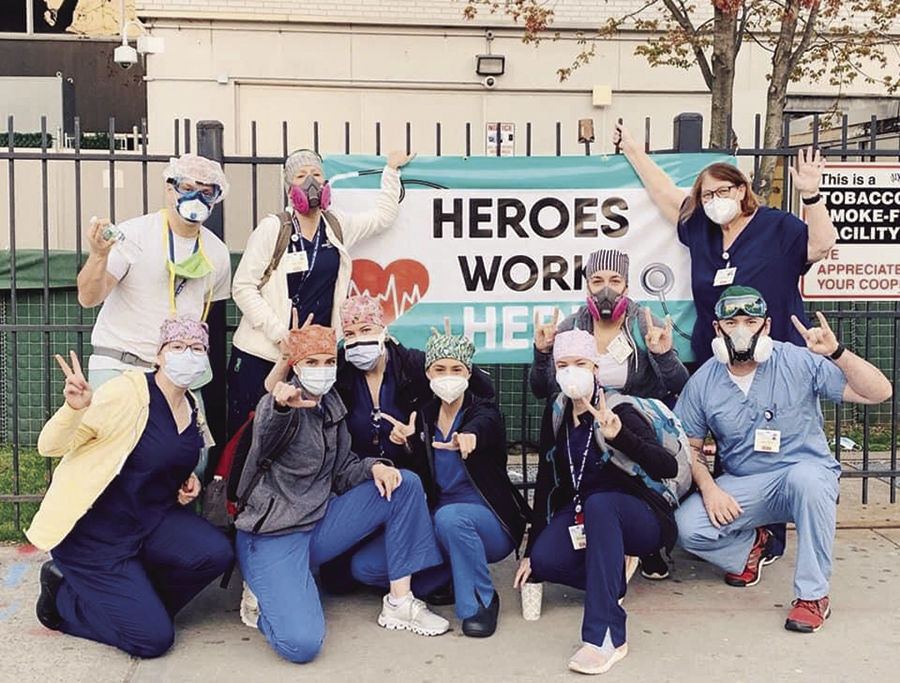 Local nurse shares stories about working in New York
