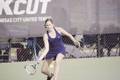Liberty tennis competes at sectionals