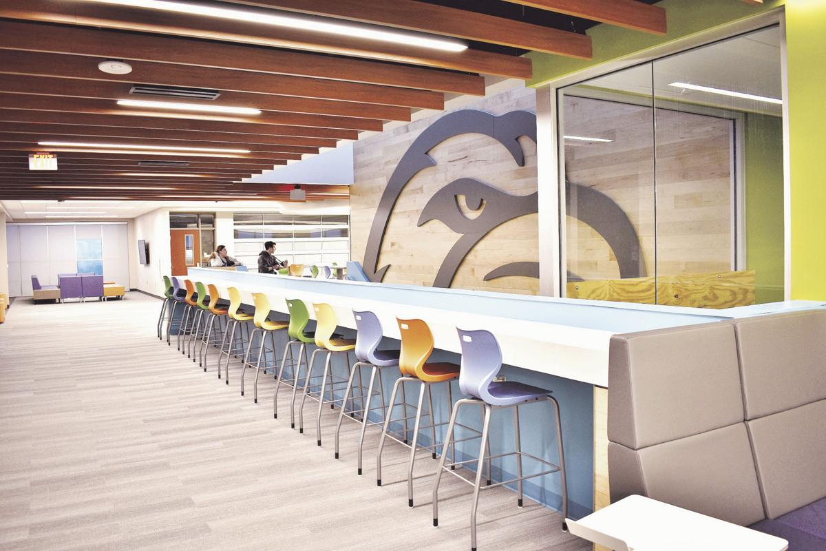 Liberty North High School opens Eagle Pointe wing