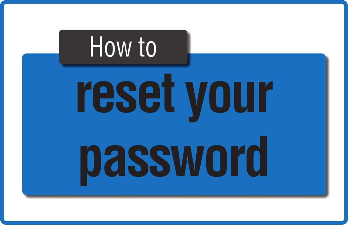 TIP SHEET: Password reset