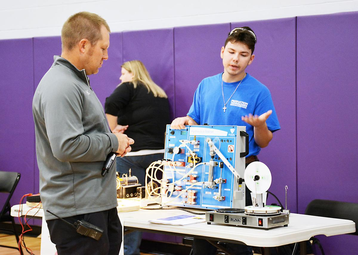Expo provides students glimpse at possible careers