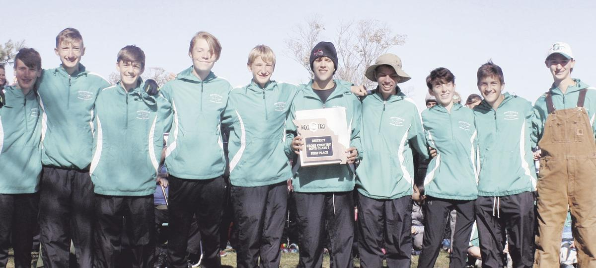 Warriors sweep another district cross country meet