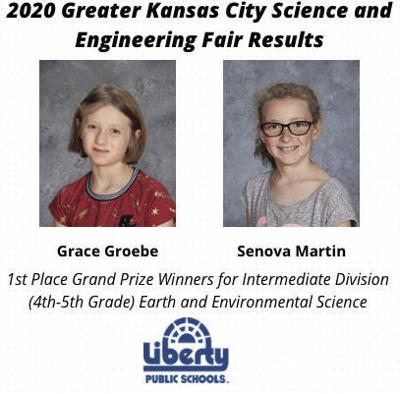 LPS wins big during 2020 Greater Kansas City Science and Engineering Fair