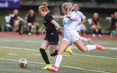 Kearney girls soccer sweeps season series with Smithville