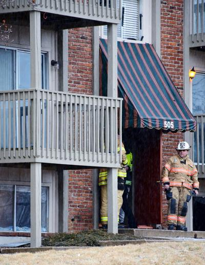 Early morning apartment fire claims one