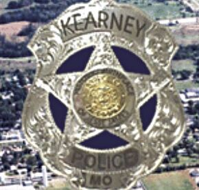 Kearney police badge