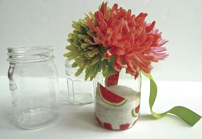 DONNA'S DAY: Give jars in bloom to thank teachers