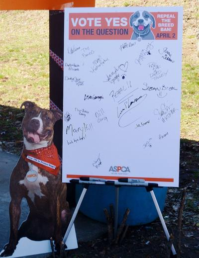 Liberty voters repeal pit bull ban