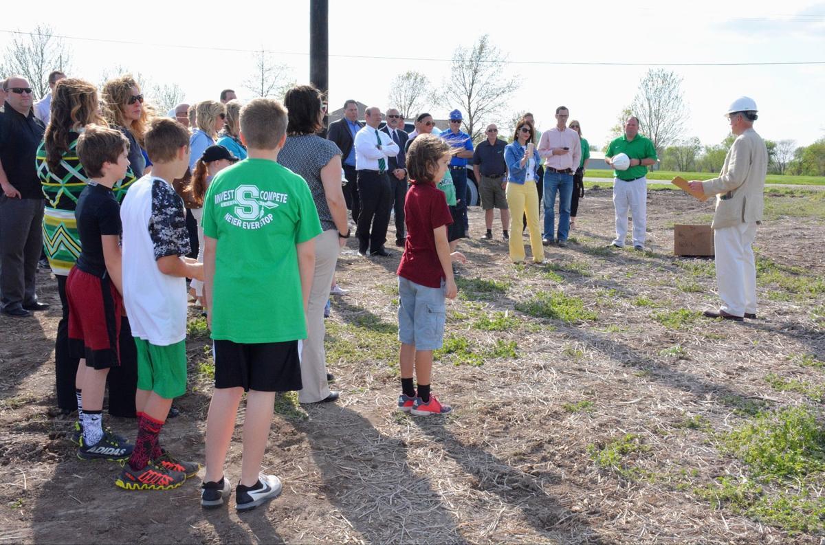 Smithville elementary groundbreaking
