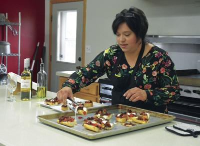Hospitality director cooks up encouragement, satisfying treats