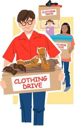 Clothing drive benefits homeless veterans