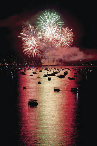 Smithville fireworks display on for Fourth of July