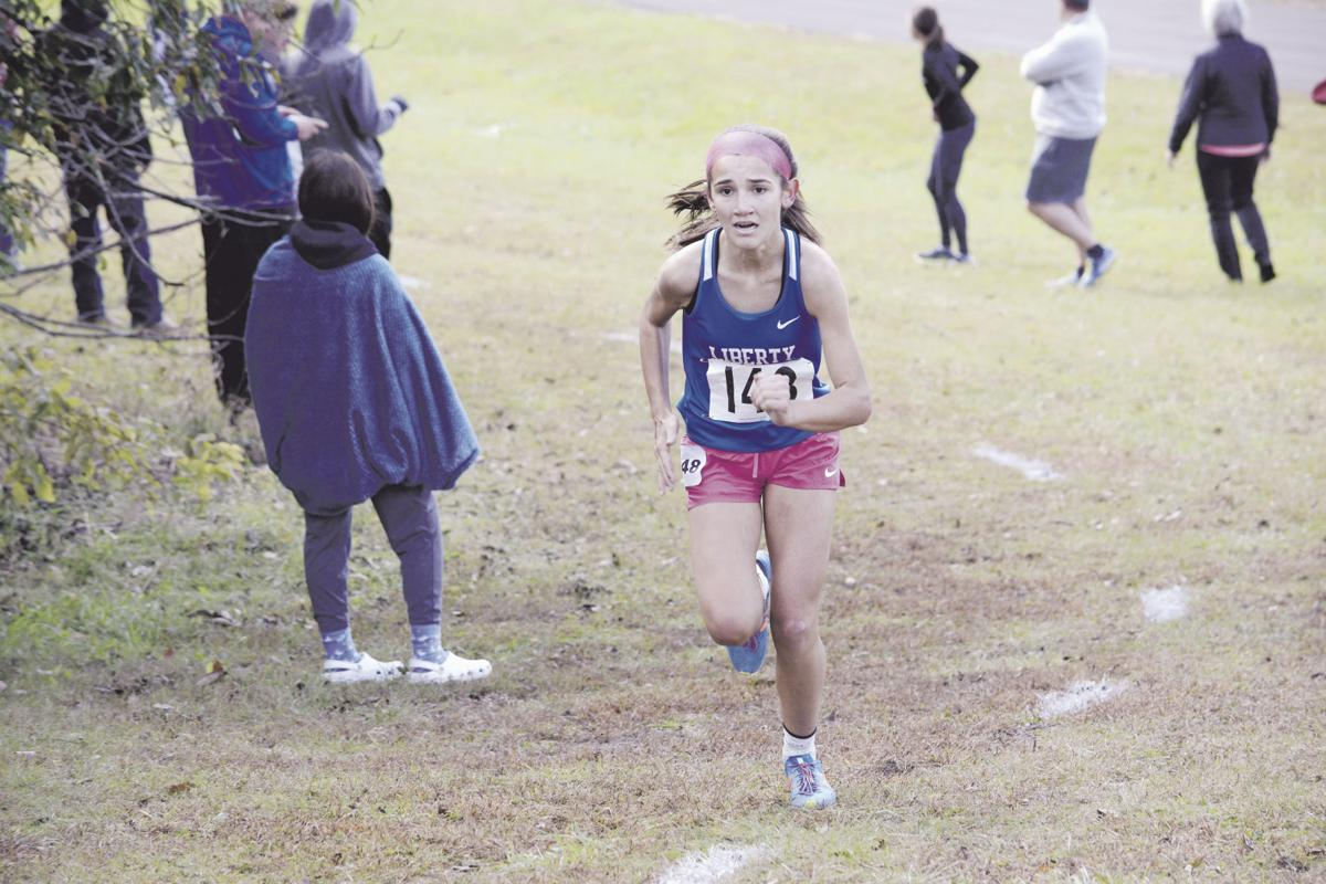 Liberty sweeps cross country district titles