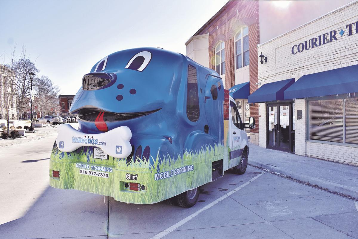 Dog-shaped truck shapes up dogs