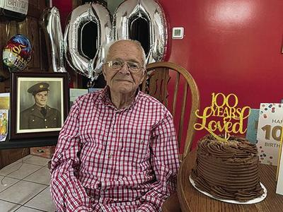 Communications supervisor hits 100 years old