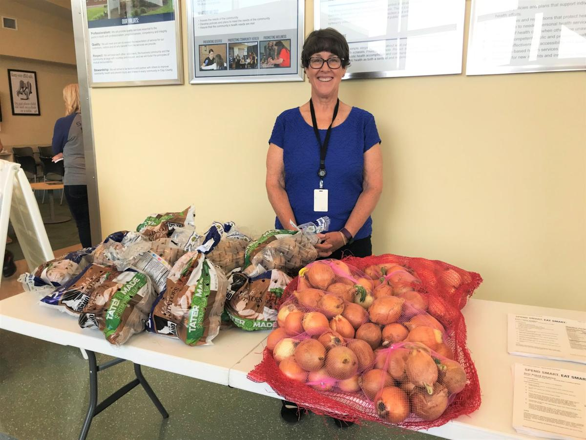 Clay County Public Health Center partners with Harvester's Food Bank