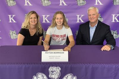 Kearney jumper Morrison signs with Hastings College