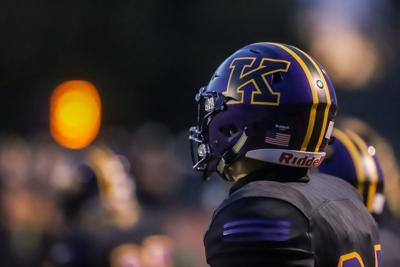 Kearney football against Reeds Spring