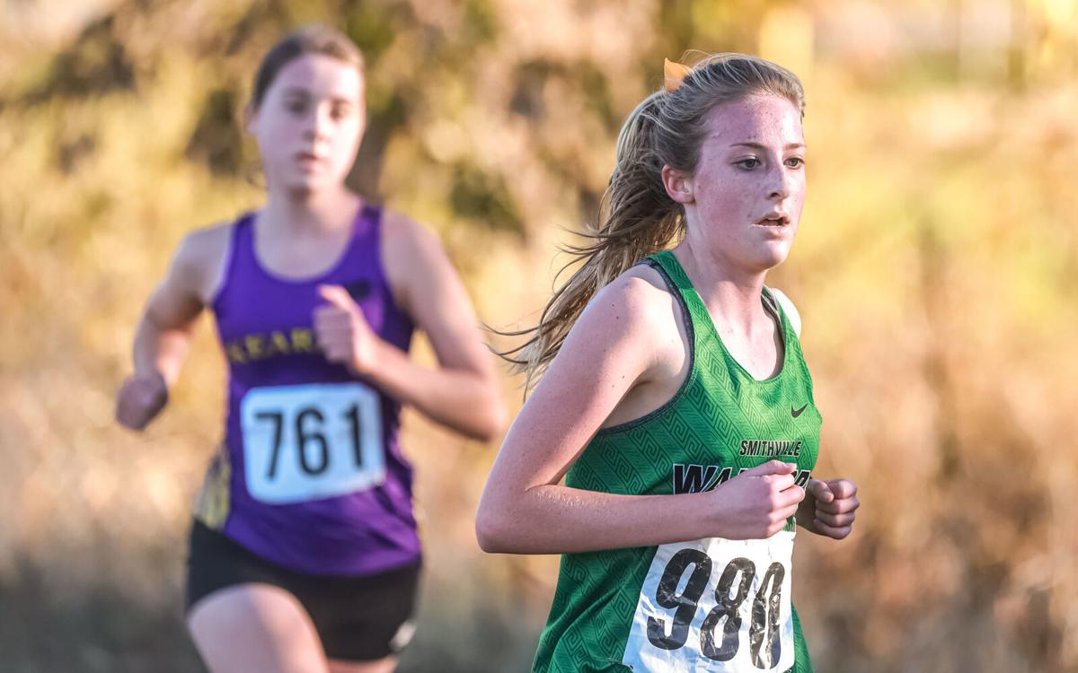 Smithville and Kearney girls cross country at district race-28.jpg