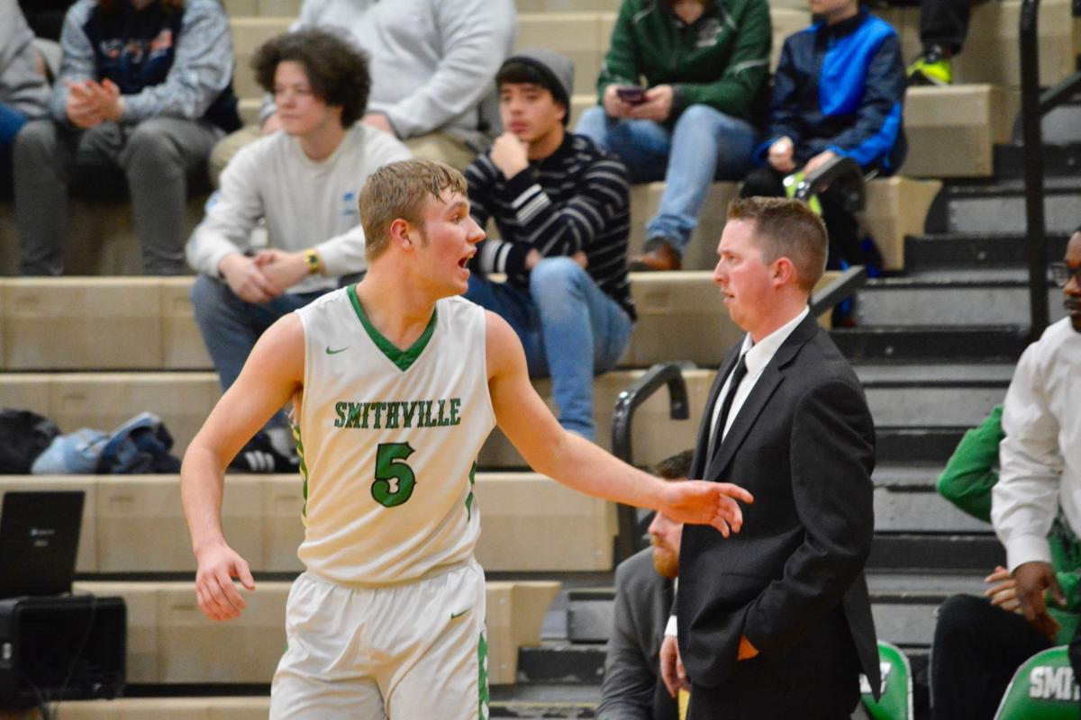 Smithville boys fall to Grain Valley 77-53 on Senior Night