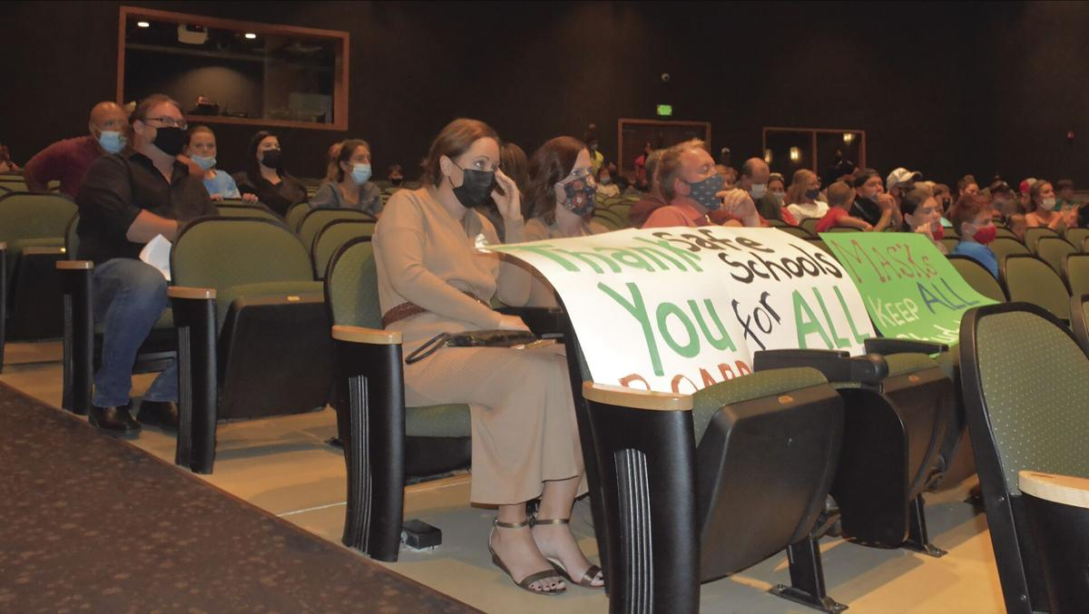 Smithville School Board listens to anti-mask parents, students