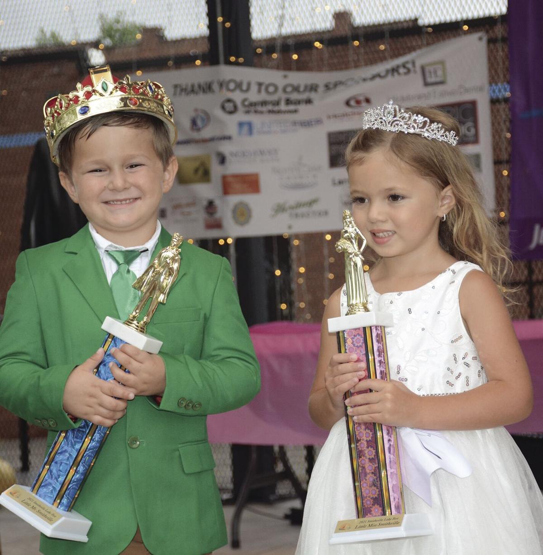 Little Mr., Miss Smithville crowned