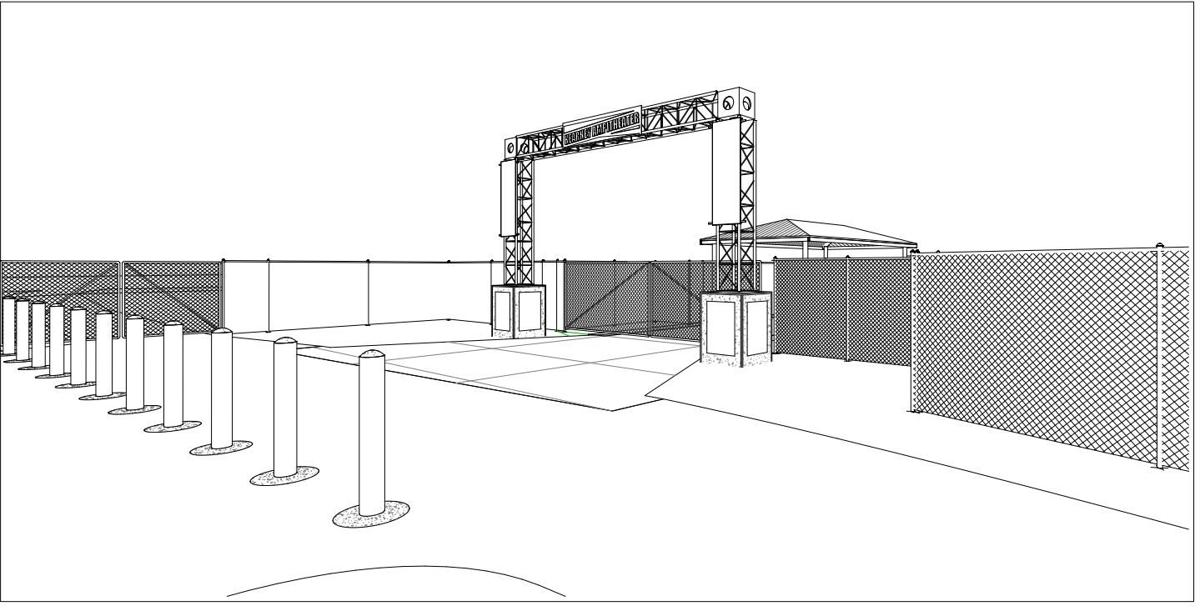 Amphitheater to receive new archway