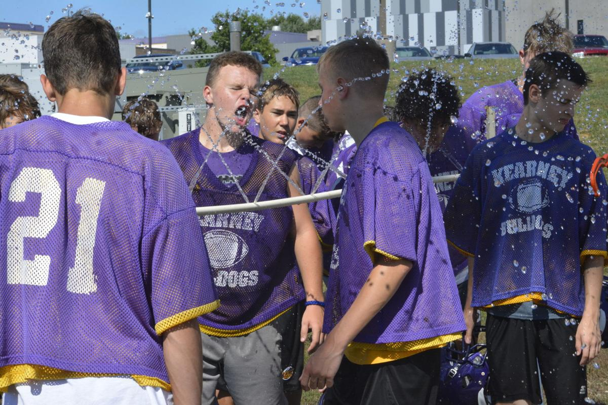 Bulldogs begin football practice with energy