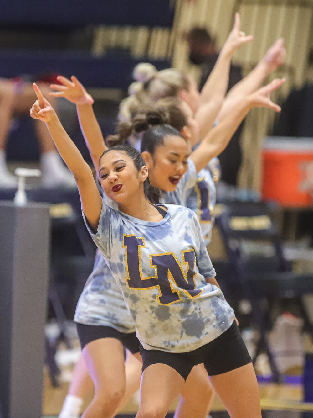 Liberty North Golden Girls Dance Team Halftime Performance at Crosstown Showdown-1.jpg