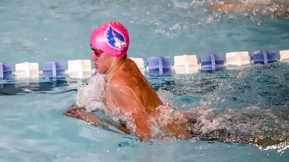Liberty swim finishes 3rd in NKC Invite