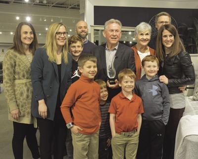 Crowleys Receive Service To Mankind, Crowley Furniture Liberty Missouri