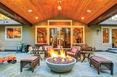 How to create a winter-friendly outdoor living space