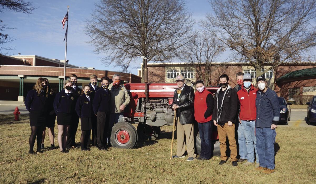 Smithville alum donates tractor to FFA, ag classes