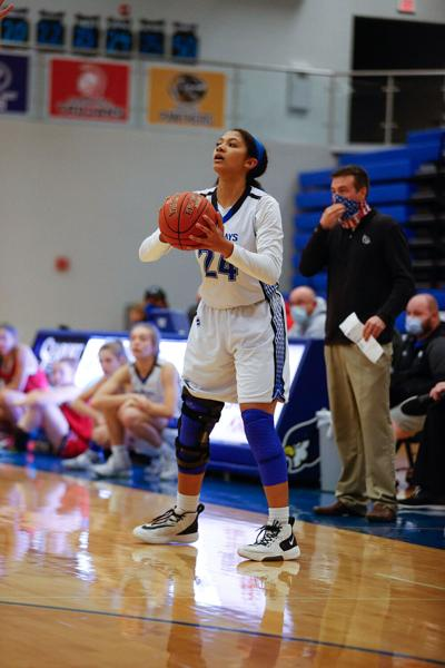 Liberty girls hoops back to .500 with 5th straight win