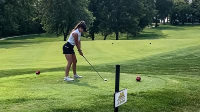 Eagles girls golf beats Kearney in dual