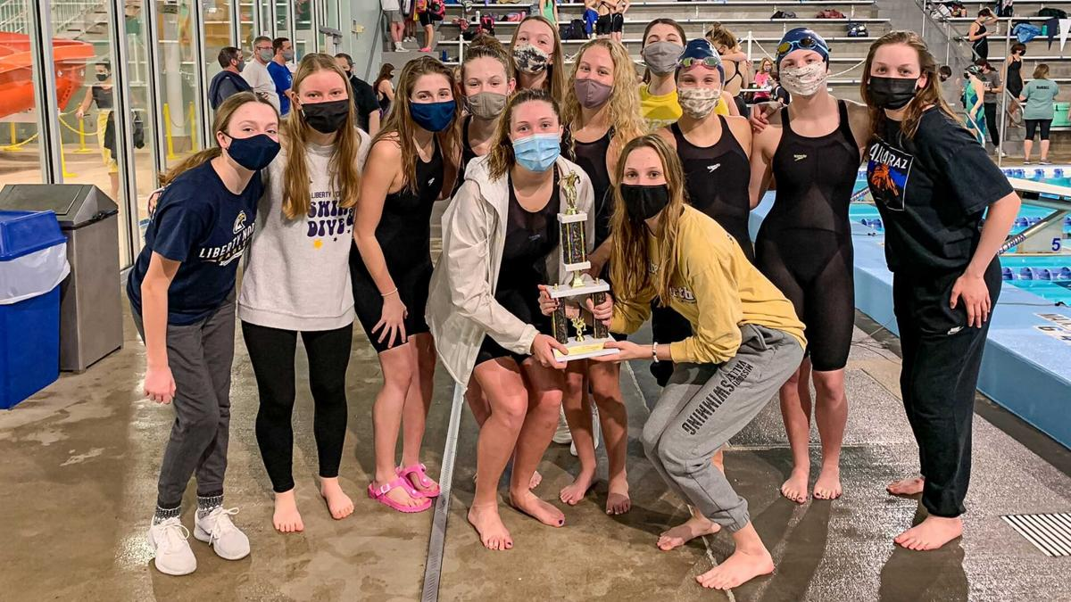Eagles girls swim finishes 2nd at KC Classic; Blue Jays take 3rd
