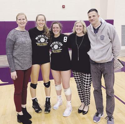 Awards continue to roll in for Eagles' upstart volleyball program