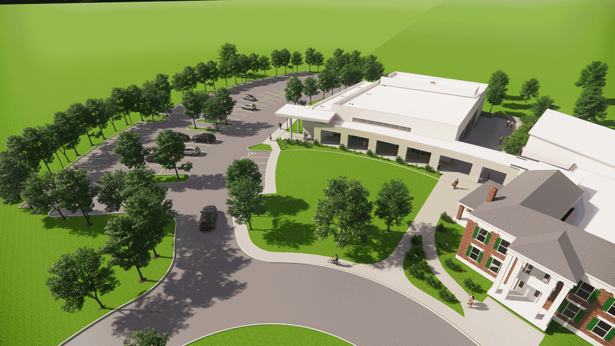 Library begins work on auditorium, amphitheater near Liberty