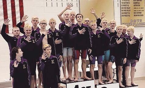 Kearney swimming wins fifth straight league title