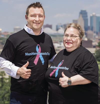 Male breast cancer not discussed often, but survivor seeks inclusion