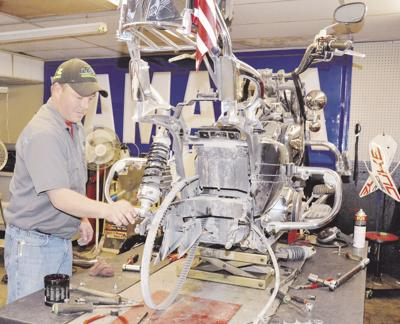 Technician relishes daily variety at LCC Powersports
