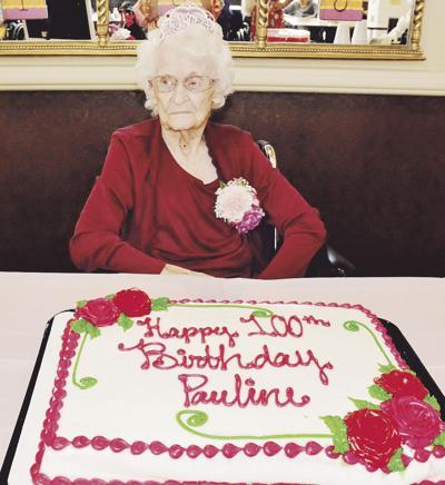 Liberty Health and Wellness resident celebrates 100th birthday