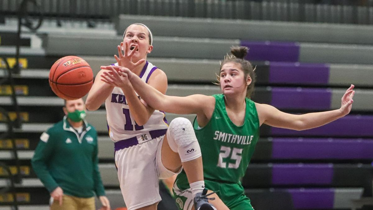 Smithville ends 6-game losing streak against Kearney in girls hoops rivalry