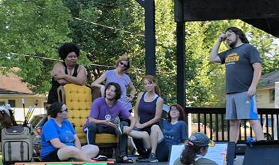 """""""Godspell"""" July 19, 20 in Lion's Park"""
