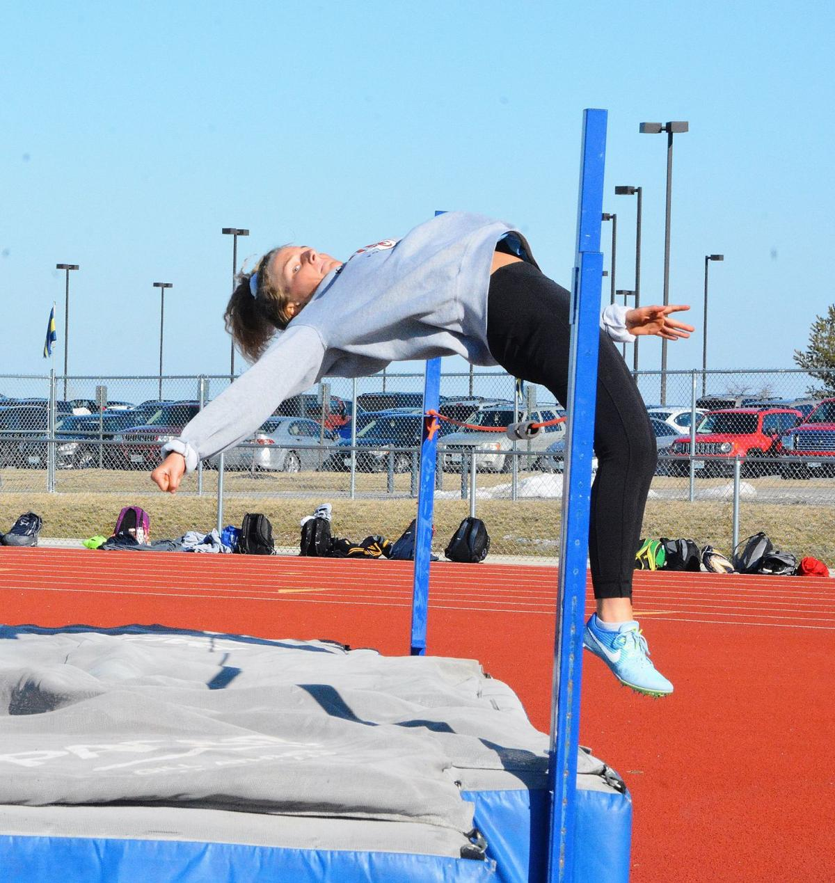 Eagles girls track lose chance to break multiple school records